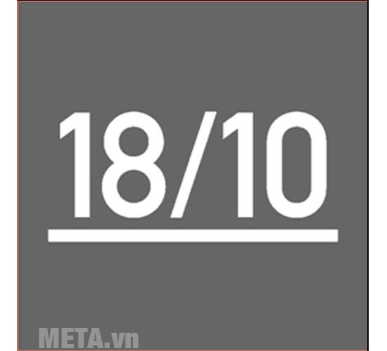 Nồi áp suất Fissler Edition được làm từ thép không gỉ 18/10