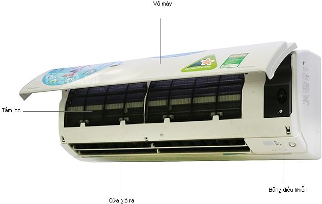 Điều hòa 2 chiều Daikin FTXS25GVMV/RXS25GVMV phù hợp cho diện tich phòng dưới 15m2