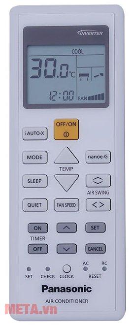 Điều hòa Panasonic 1 chiều Inverter 12.000 BTU CU/CS-U12TKH-8 có điều khiển từ xa tiện lợi