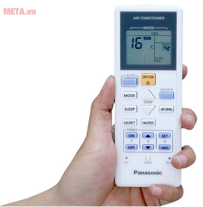Điều hòa Panasonic 1 chiều Inverter 18.000 BTU CU/CS-U18TKH-8 có điều khiển từ xa