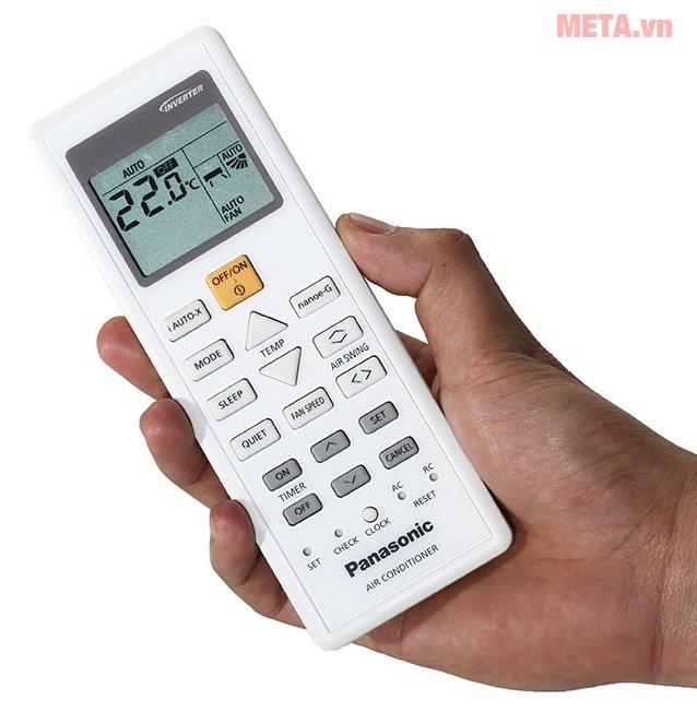 Điều hòa 2 chiều cao cấp Panasonic Inverter 9000 BTU CU/CS-Z9TKH-8 có điều khiển từ xa tiện lợi