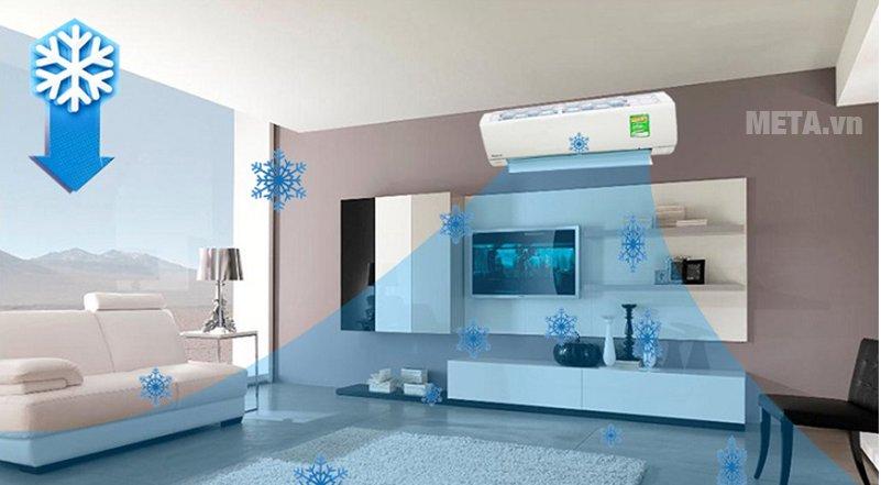 Điều hòa 2 chiều cao cấp Panasonic Inverter 9000 BTU CU/CS-Z9TKH-8 với công nghệ làm lạnh nhanh