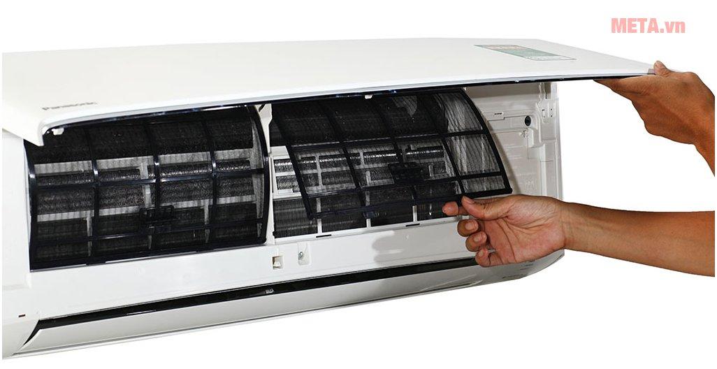Điều hòa 2 chiều cao cấp Panasonic Inverter 9000 BTU CU/CS-Z9TKH-8 dễ dàng vệ sinh sau khi sử dụng