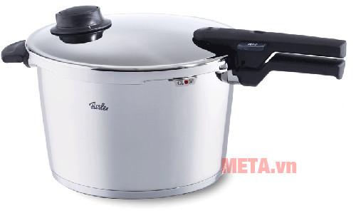 Nồi áp suất Fissler Vitavit Comfort 22cm- 6L giúp việc nấu ăn của bạn được tiết kiệm thời gian