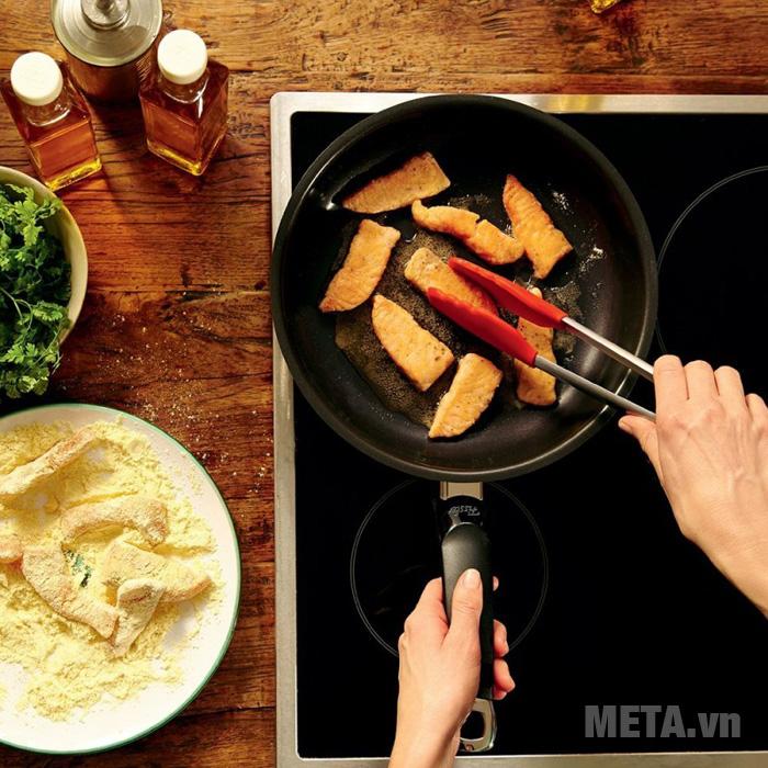 Chảo Fissler Steelex có thể dùng cho mọi loại bếp kể cả bếp từ