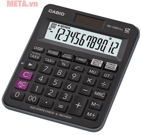 Máy tính Casio MJ-120D Plus-BK