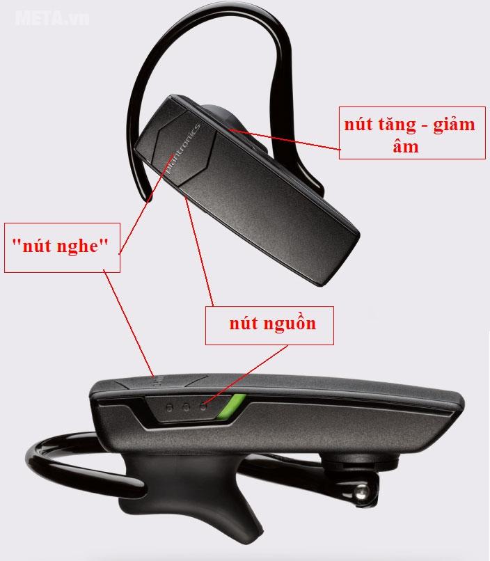 Nút hiển thị cơ bản trên thanh tai nghe
