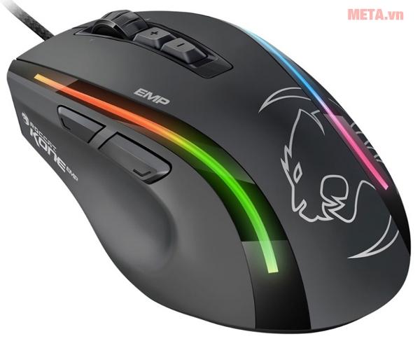 Chuột Roccat Kone EMP được thiết kế dành cho các game thủ chuyên nghiệp