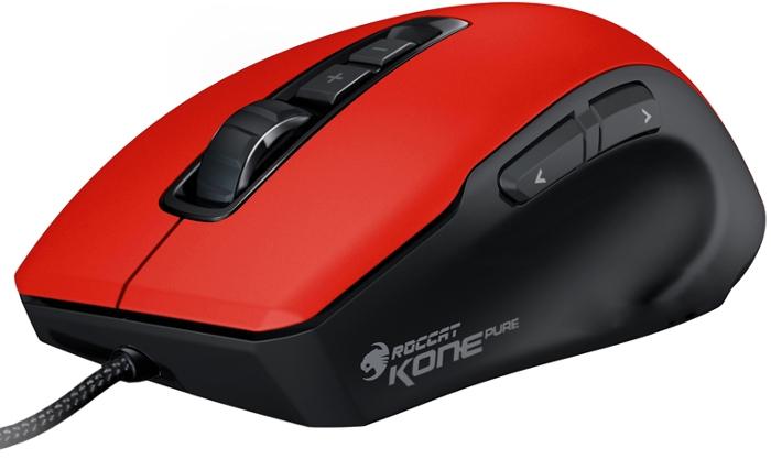 Chuột Gaming Roccat Mouse Kone Pure màu đỏ