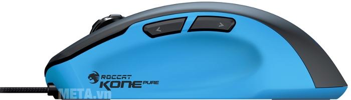 Chuột Gaming Roccat Mouse Kone Pure màu xanh