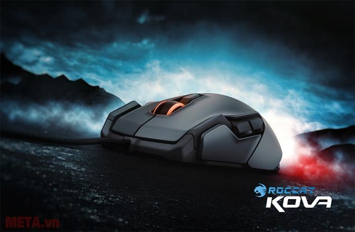 Mouse Kova hỗ trợ cho người chơi game và công việc thiết kế