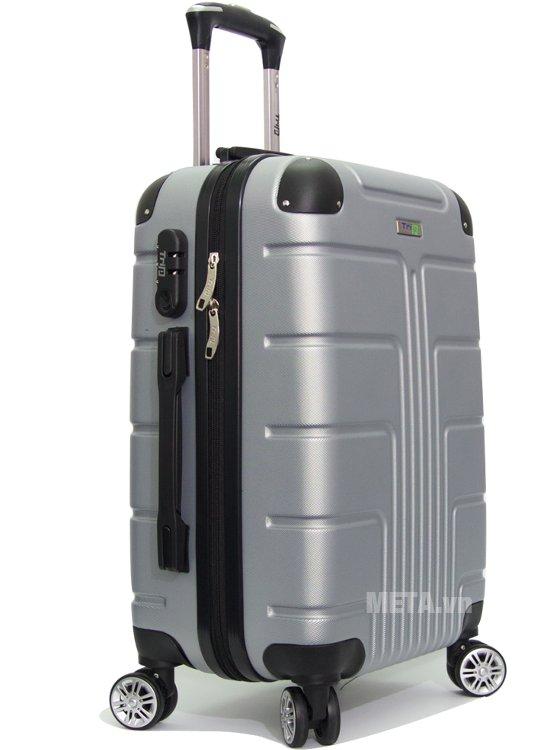 Vali kéo Trip P701 cỡ 50cm màu xám