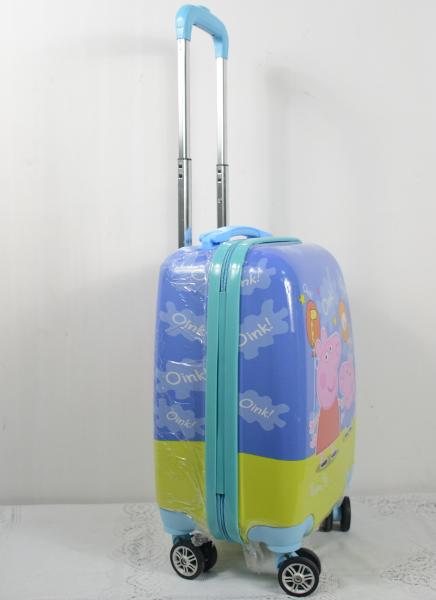 Vali nhựa trẻ em BB-09 có bánh xe và tay cầm phù hợp cho các bé
