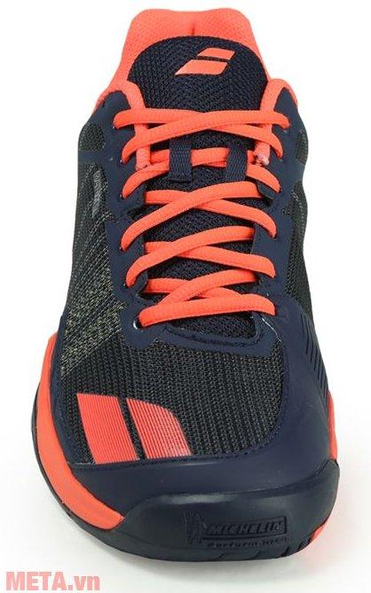 Giày tennis nam Babolat Jet Team All Court 30S17649-209 thiết kế bề mặt thoáng khí