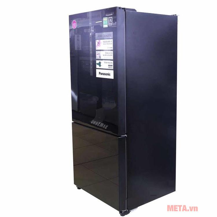 Tủ lạnh Panasonic Econavi NR-BX468GKVN có dung tích 450L