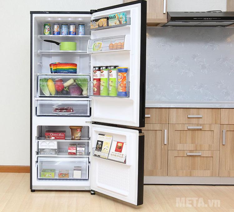Tủ lạnh Panasonic Econavi NR-BX468GKVN tiết kiệm điện năng