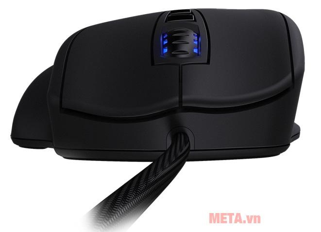Chuột Gaming Mionix NAOS 7000 Multi-Color Ergonomic Optical coscon lăn trơn, tăng tốc độ lướt