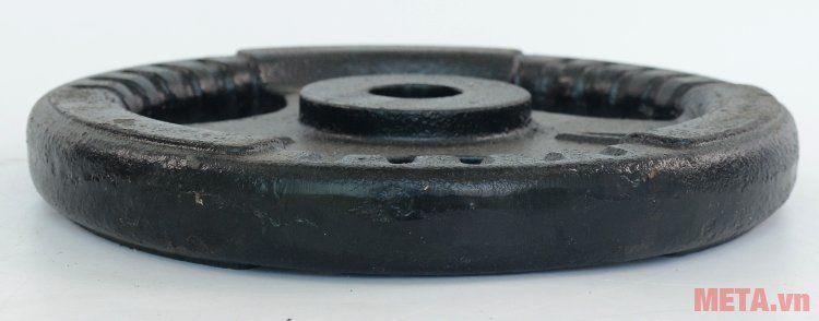 Tạ đĩa gang 10 kg dày dặn cho độ bền cao
