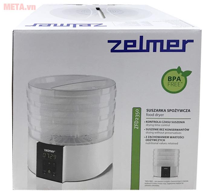 Máy sấy thực phẩm Zelmer ZFD2350W bảo quản trong hộp chắc chắn