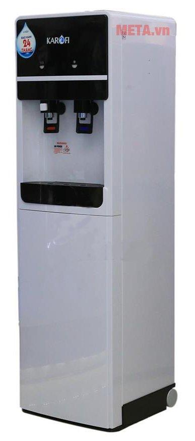Cây nước uống nóng lạnh Karofi hút bình HC02-W có thiết kế tiện lợi
