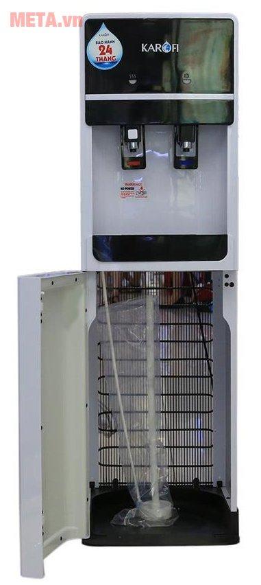 Cây nước uống nóng lạnh Karofi hút bình HC02-W có chất liệu cao cấp