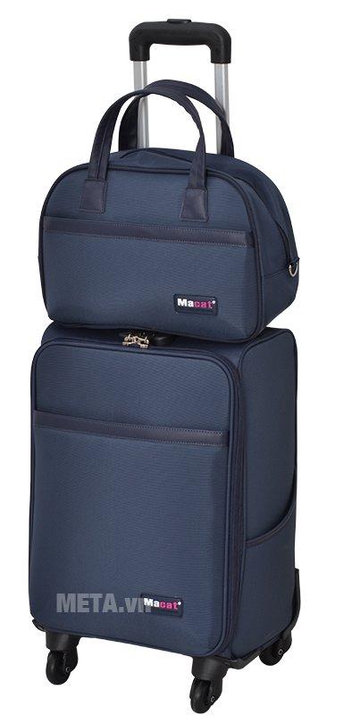 Bộ vali cao cấp MACAT M18BC màu navy