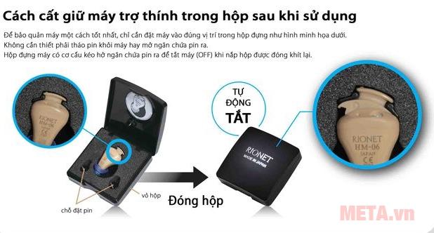 Cách bảo quản máy trợ thính