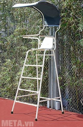 Ghế trọng tài tennis cao 1.5m VF-302351 thiết kế có mái che