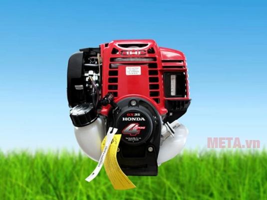 Máy cắt cỏ Oshima T-GX 35 sử dụng động cơ Honda 4 thì