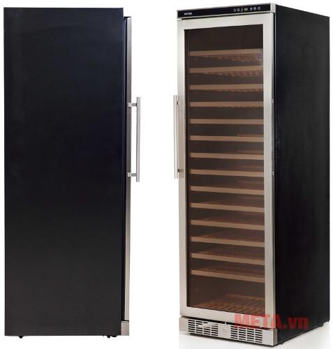 Tủ có thiết kế tinh tế sang trọng phù hợp với mọi không gian