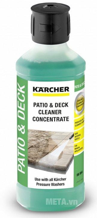 Nước lau sàn Karcher 500ml ít bọt khí mang lại cảm giác dễ chịu khi dùng
