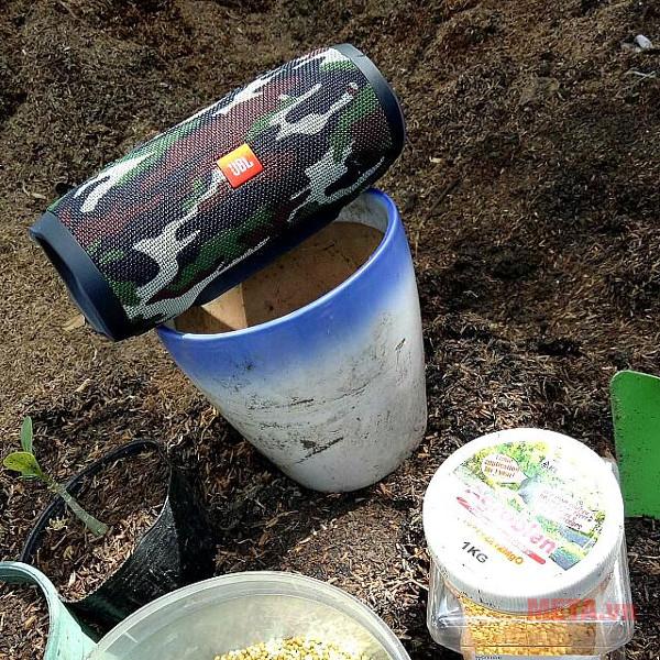 Loa có khả năng chống thấm nước và bụi bẩn hiệu quả