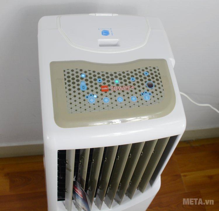 Máy làm mát Air Cooler Cello Tower 25 có bảng điều khiển điện tử