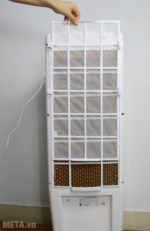 Máy làm mát Air Cooler Cello Tower 25 dễ dàng tháo rời tấm làm mát để vệ sinh