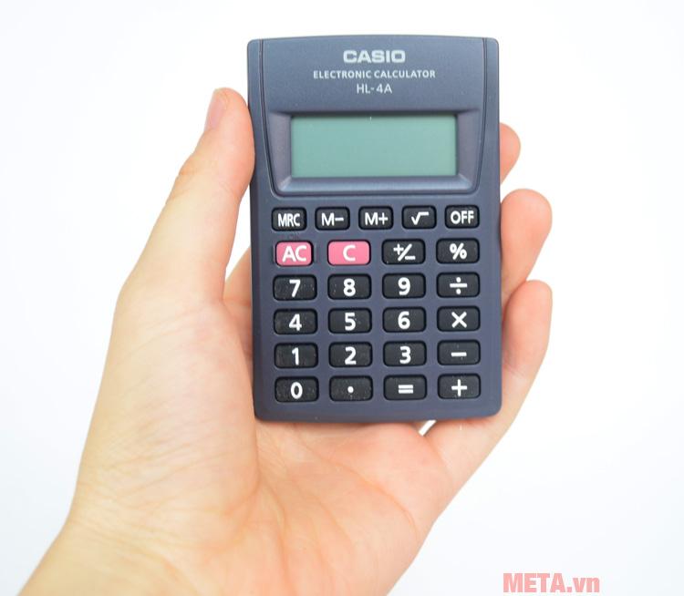 Máy tính bỏ túi Casio HL-4A nhỏ gọn
