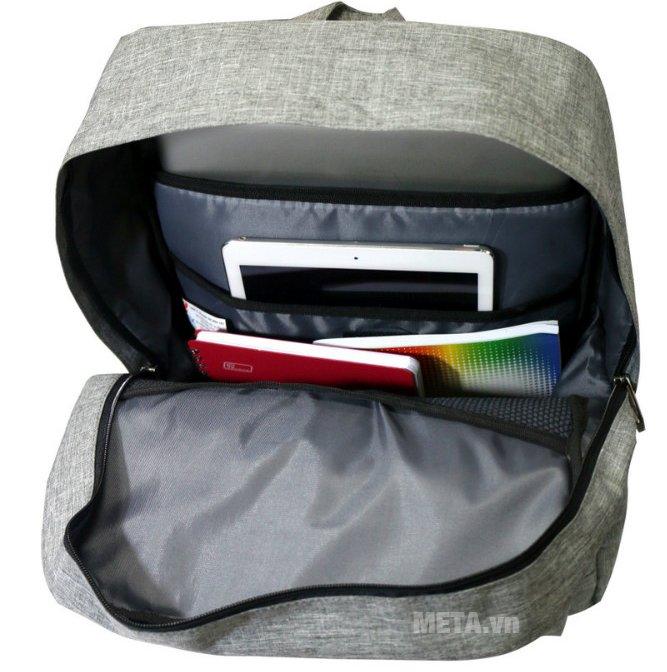 Balo teen B-23-004 có thể đựng laptop, sách vở đi học hoặc đi làm
