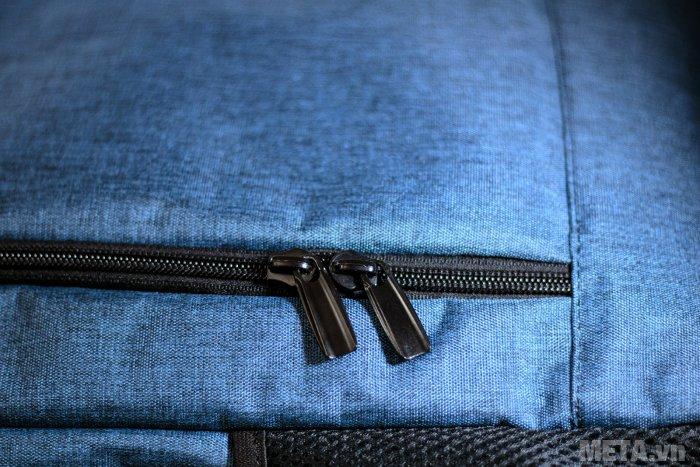 Balo thời trang B-23-007 có khóa kéo 2 chiều bền bỉ, không gỉ sét