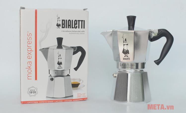 Hộp đựng ấm pha cà phê Bialetti Moka Express 6TZ BCM-1163