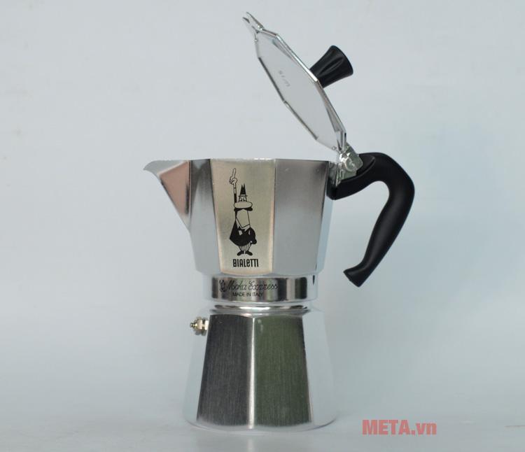 Ấm pha cà phê Bialetti Moka Express 6TZ BCM-1163 phù hợp với các quý ông