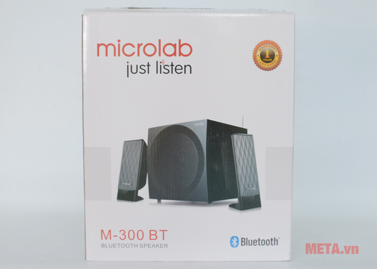 Hộp đựng của loa máy tính Microlab M300BT