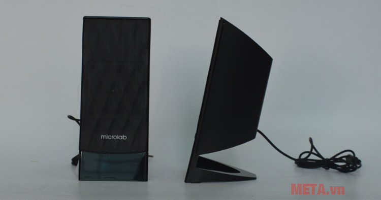 Loa máy tính Microlab M300BT có 2 loa vệ tinh có thiết kế hiện đại
