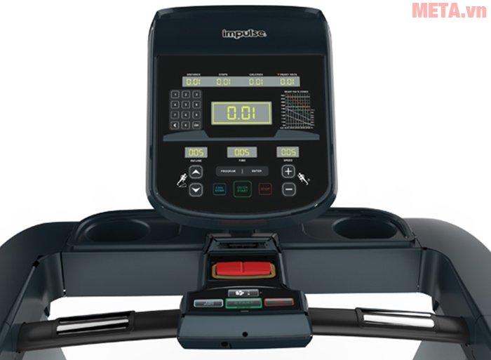 Máy chạy bộ điện Impulse RT500 cho phép đo nhịp tim