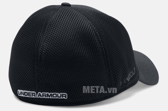 Mũ golf nam Mesh Stretch 2.0 Cap Under Armour 1273280 có tên thương ở mặt sau của mũ