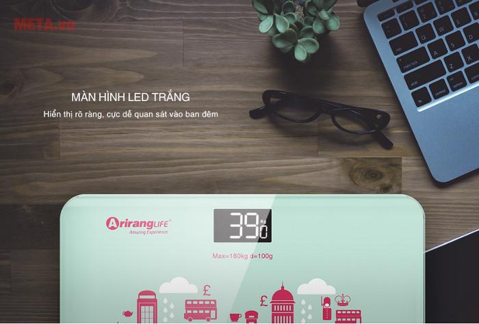 Màn hình hiển thị đèn led dễ theo dõi kết quả
