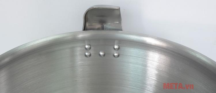 Nồi áp suất công nghiệp Tianxi C-44 có màu bạc sang trọng