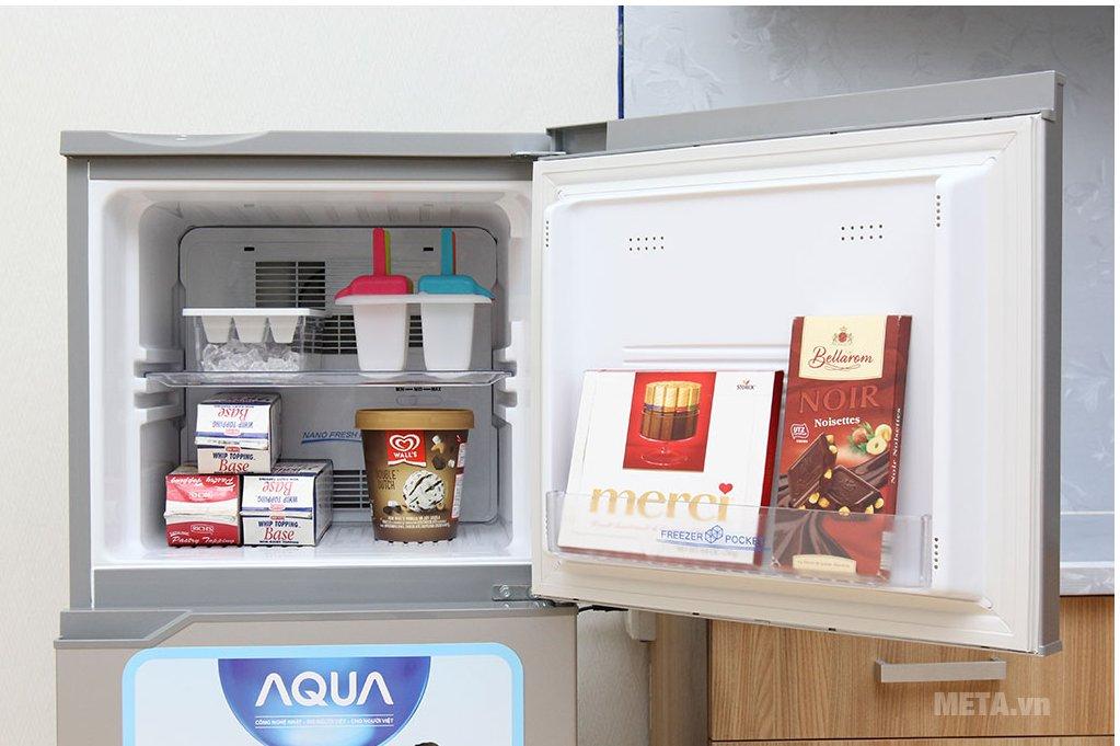 Tủ lạnh Aqua AQR-145BN SS có công nghệ làm lạnh đa chiều