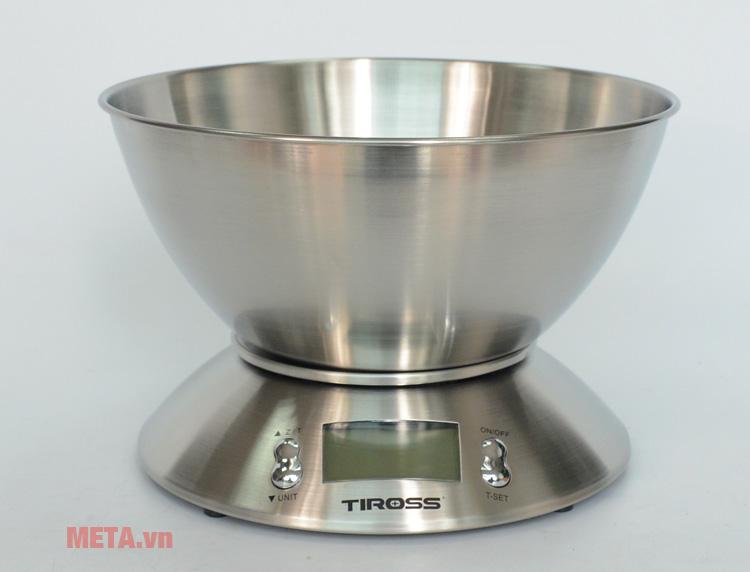 Cân nhà bếp Tiross TS817 có thiết kế sang trọng