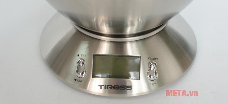 Cân Tiross TS817 có màn hình hiển thị rõ nét