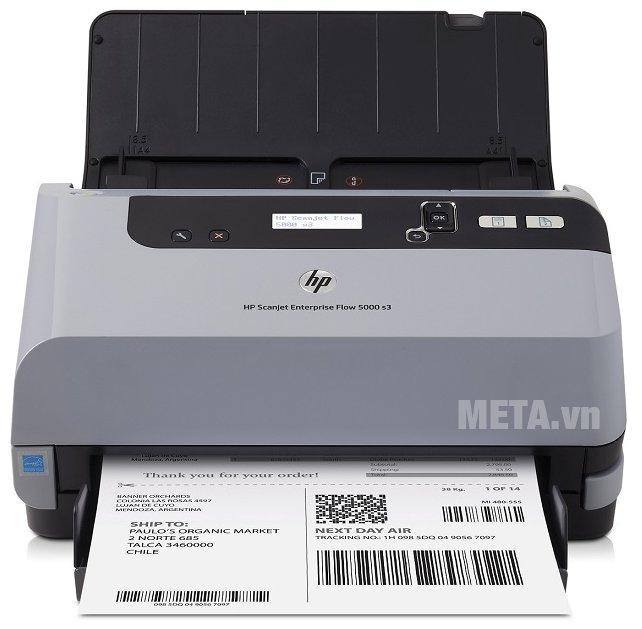 Máy quét 2 mặt Duplex HP Scanjet Enterprise Flow 5000 s3 cho chất lượng bản sao chép rất rõ ràng, sắc nét