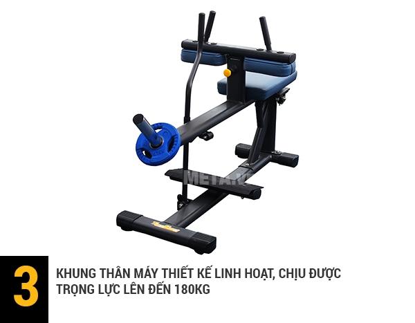 Ghế tập cơ bụng tải trọng lên tới 180kg